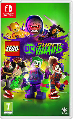 Nintendo SWITCH LEGO DC Super Villains videogioco LEGO DC Super Villains, Switch