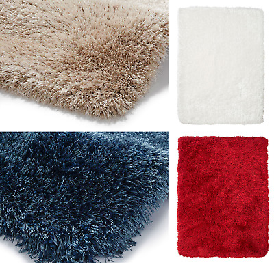 Super Thick Shaggy Rugs - High Quality Shag Pile - Soft Shiny Heavy Weight Shag