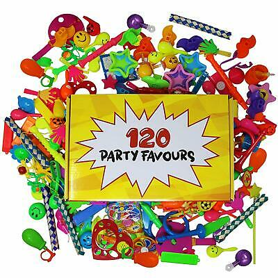 120 Bulk Party Toys Party Bag Fillers Birthday Favours Favor Kids Wedding Toy