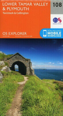 Lower Tamar Valley and Plymouth (OS Explorer Map) by Ordnance Survey.