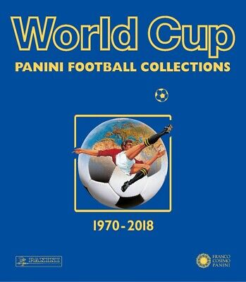 World cup. Panini football collections. 1970-2018