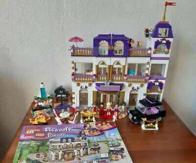 Lego Friends 41101 Heartlake Grand Hotel With Instructions 6499