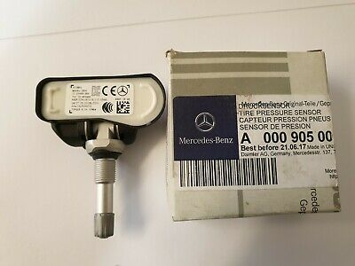 New Genuine Mercedes-Benz Alloy Wheel Tyre Pressure Sensor Part N : A0009050030