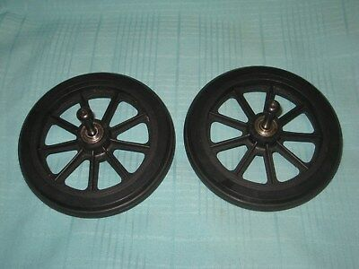 Drive Rollator WHEELS with SCREWS 6 inch Replacement Part R726 style tires