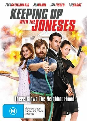 Keeping Up With The Joneses DVD : NEW