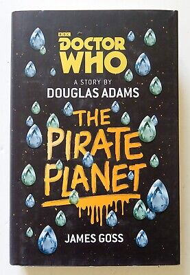 Doctor Who The Pirate Planet BBC Hardcover Prose Novel Book