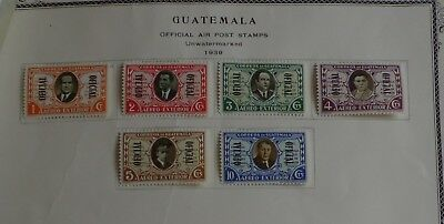 Guatemala 1902/51 - Lot 50 stamps & 1 sheet – Official – Special delivery – Tax