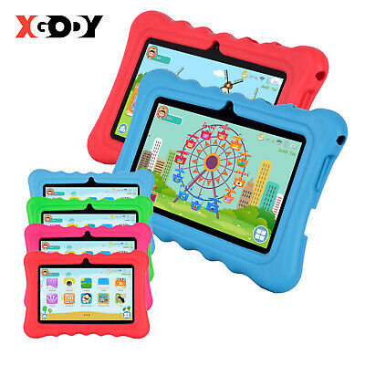 "XGODY 7"" Inch Android 8.1 WIFI 8GB Tablet PC Quad-core Dual Cam HD for Children"