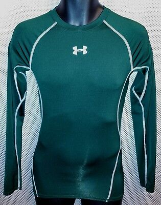 46034bb51 Under Armour Forest Green Long Sleeve Compression Shirt NWOT - Mens Small