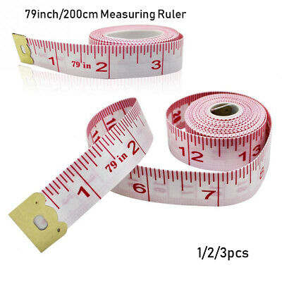 Sewing tape 79in retractable 60 Measuring tapeTaylor/'s//Health soft fabric tapes