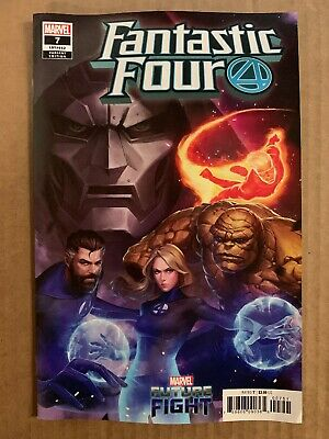 Fantastic Four #7 Yongho Cho Mystery Variant 1St Print Marvel Comics (2019)