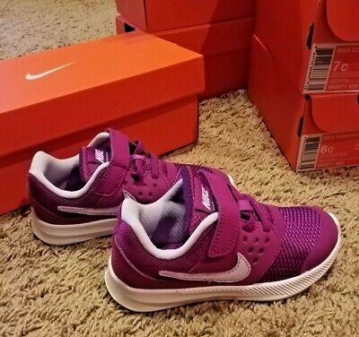 cae3179aa4 NIKE DOWNSHIFTER 7 (TDV) Purple/Violet Toddler Girl's Shoes Size 6c ...