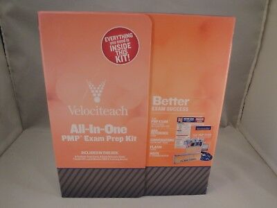 VELOCITEACH All In One PMP Exam Prep Kit 4th Edition Crowe Book CDs Flashcards