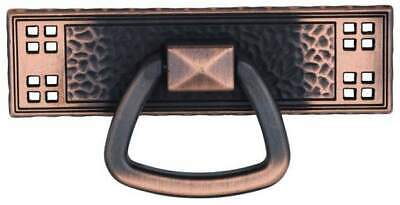 Period Mission style Door Pull Drawer Pull Antique Copper finish D553-AC