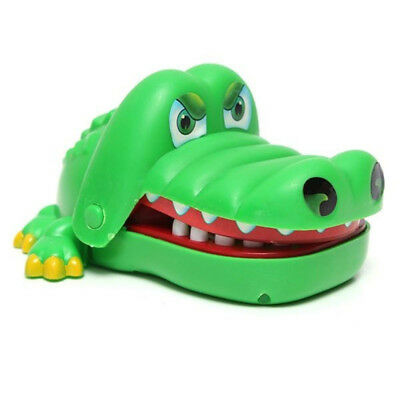 Size Big Mouth Gift Funny Gags Dentist Bite Finger Game Joke Crocodile Toy