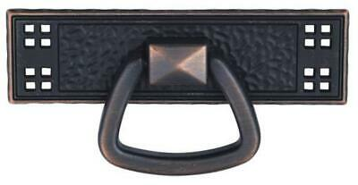 Period Mission style Door Pull Drawer Pull Oil Rubbed Bronze finish D553-ORB