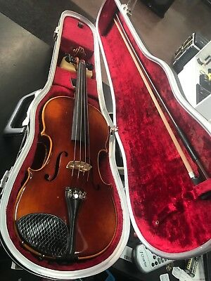 ANTON SCHROETTER  3/4 Violin Made in Germany, 1975