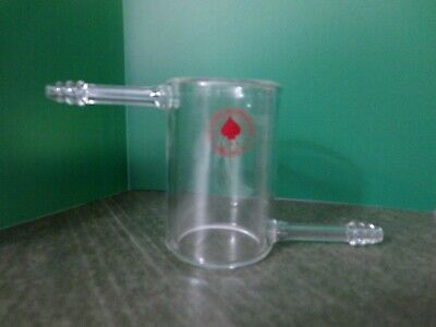 "Ace Glass Beaker Jacket, Open Ends with 3/8"" Hose Connections"