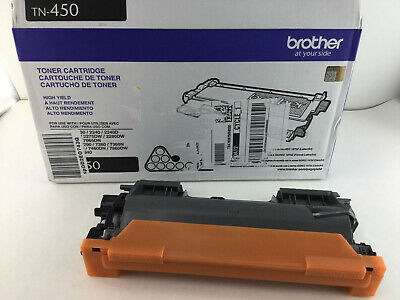 EMPTY Virgin OEM Brother TN-450 BLACK High Yield Cartridge Ready to Refill