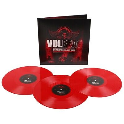 Volbeat - Live From Beyond Hell / Above Heaven (3LP Red Vinyl, Gatefold) 2011