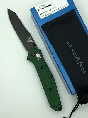 * New Benchmade 940Bk Osborne Reverse Tanto S30V Blade Steel Plain Edge Knife