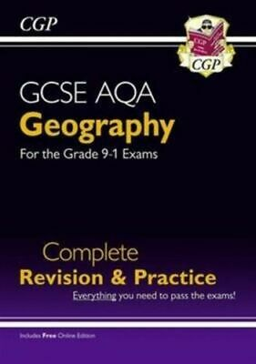 New Grade 9-1 Gcse Geography Aqa Complete Revision And Practice (with Online Edi