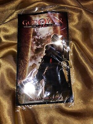 God of War Chains Olympus Omega Pendant Collectors Item Necklace RARE SONY PROMO