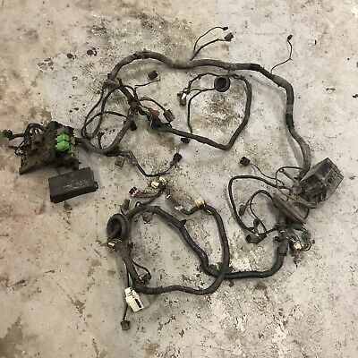 89-94 nissan 240sx engine bay chassis harness fuse relay box s13 power  headlight