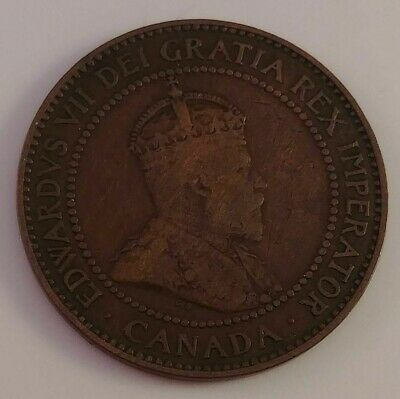 1910 Canada Large Cent