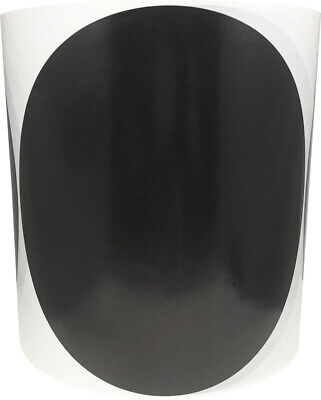 Circle Dot Stickers, 6 Inches Round, 500 Labels on a Roll, 8 Color Choices