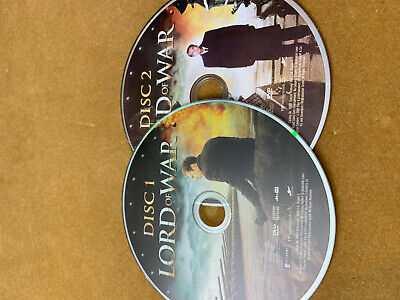 Lord of War (DVD, 2006 2-Disc Set, ) Discs Only  35-90