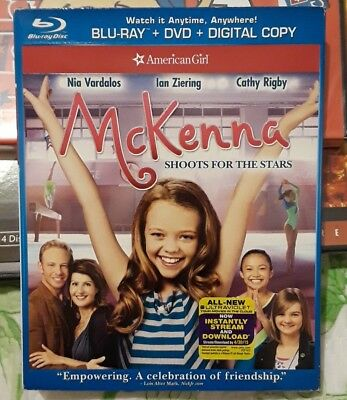 An American Girl: McKenna Shoots for the Stars (Blu-ray/DVD, 2013, 2-Disc Set, …