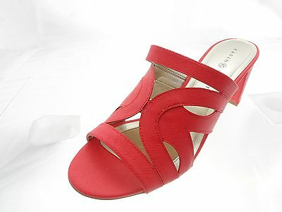 d1b56a8b421841 Karen Scott Daere Open Womens Toe Synthetic Sandals Corals Size 10M