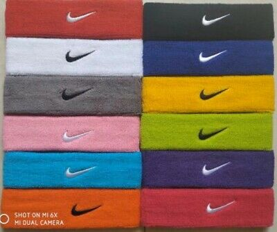Nike Swoosh Headband Brand New 12 Different Colors To Choose From