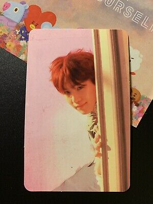 Suga Official Photocard Bts Love Yourself Answer E Version