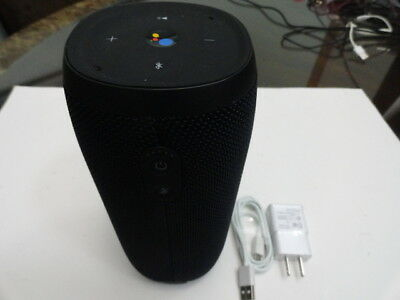 USED JBL Link 20 Voice-activated Portable Speaker With Google Assistant - BLACK
