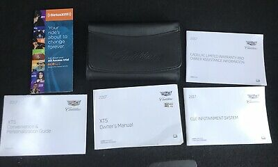 2017 Cadillac Xt5 Owners Manual Set 17 Guide W Case Oem Xt 5 Free Shipping