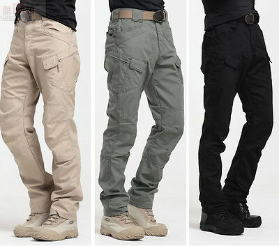 2018 Tactic Military Mens Casual Trousers New Pants Army Camo Cotton Cargo