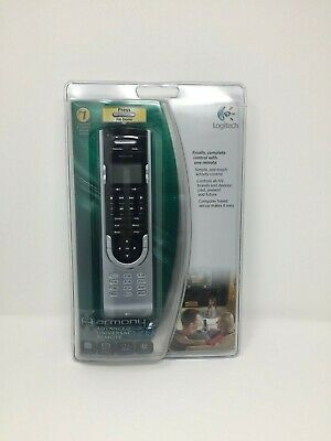 Logitech Harmony 520 Advanced Universal Remote Control 12 Devices, NEW!!