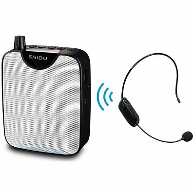 Mini Portable Voice Amplifier Rechargeable Pa System Speaker with UHF Headset