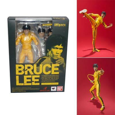 """6"""" Cool S.H.F Kung Fu Bruce Lee PVC Action Figures Collection Toys Boy Gift"""