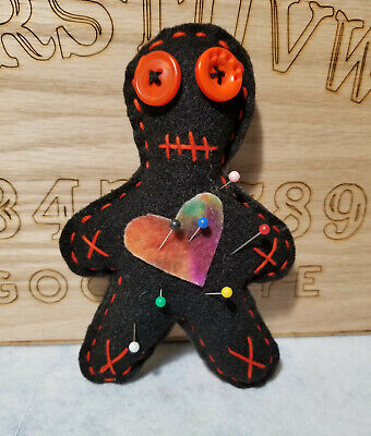 Handmade VooDoo Doll with pins