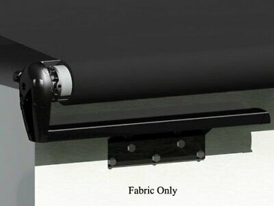 Black Vinyl Cut To Fit Slideout Fabric 200 Inch X 47 Inch Extension