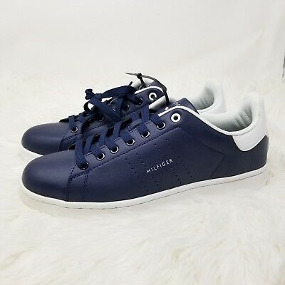 4161d2ed9 NWB Tommy Hilfiger Sneakers Mens Size 11M Liston Lace Up Casual Navy Blue