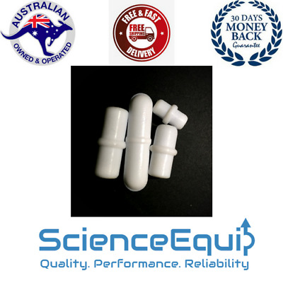 PTFE Magnetic Stir Bar, Stirrer Follower with Pivot, 8 Sizes 1/5 Pcs in a Pack