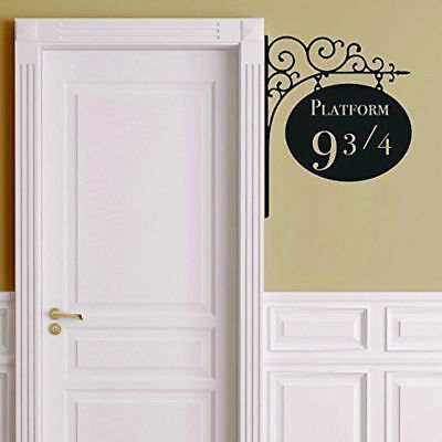 Platform 9 3/4 Harry Potter Door Sticker Artistic Wall Decals Home Room Decor