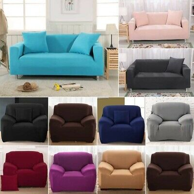 Stretch Sofa Couch Covers Slip Cover 1 Seater Recliner 2 Seater 3 Seater Lounges