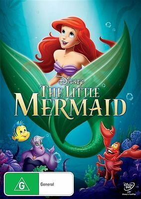 The Little Mermaid DVD : NEW