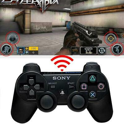 Wireless Bluetooth Dual Vibrate Game Controller Remote Joystick Gamepad For PS3