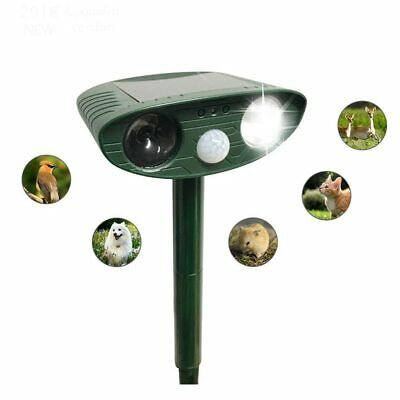 PAWZ® Solar Powered Ultrasonic Animal Repellents For Driving Dog Cat